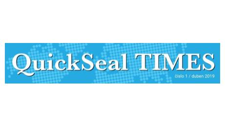 Magazín QuickSeal TIMES v novém kabátě