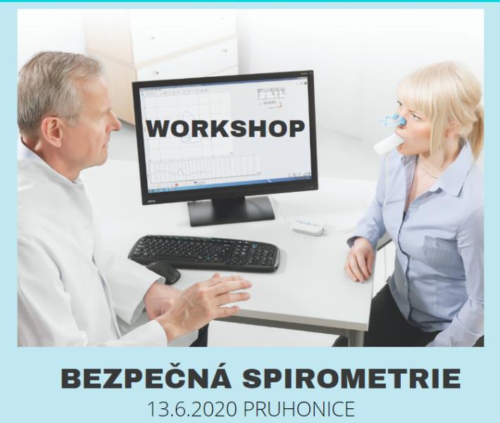 Bezpečná spirometrie - workshop