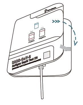 Covid-19 antigen test - krok 4.