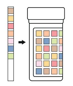 Quick Urine Strips - postup měření 3
